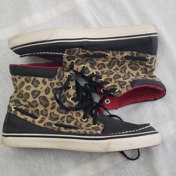 Sperry Shoes | Topsider Animal Print